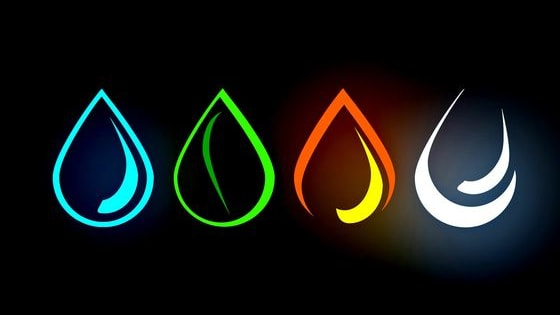 Air,fire,earth,water? wich one are you...