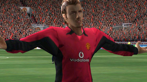 Can you identify the footballer from their retro FIFA avatar?