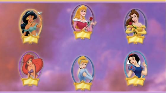This is the Disney Princess personality quiz included in the first Princess Party DVD. It tells what Disney Princess you're most like among Snow White, Cinderella, Aurora, Belle, Ariel and Jasmine. Questions and results' descriptions were narrated by the fairy Merryweather.