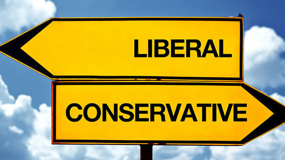 Liberal: open to new behavior or opinions and willing to discard traditional values  Moderate: Somewhere in between  Conservative: holding to traditional attitudes and values and cautious about change or innovation, typically in relation to politics or religion.