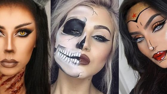 If you're like us, makeup is a huge part of your Halloween considerations. So we've decided, this year, instead of picking a costume and then trying to find makeup that works, to reverse the process. Take this quiz to choose your favorite makeup look and decide what your best costume would be based off that!