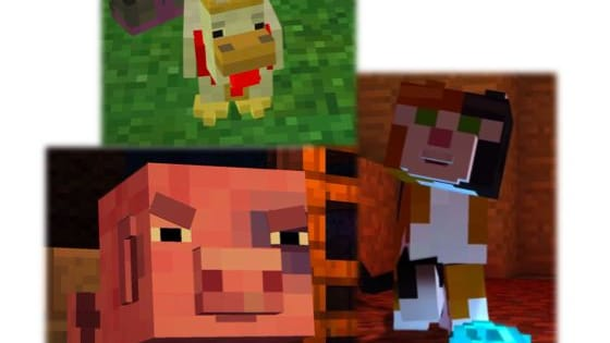 There are many pets in Minecraft Story Mode, you might even be one of Clarabelle's cows! Find out now...