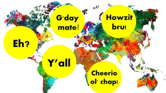 Do you say howsit or cheerio? Do you have a barbecue, braai or barby? Find out now which English speaking country your accent belongs to!
