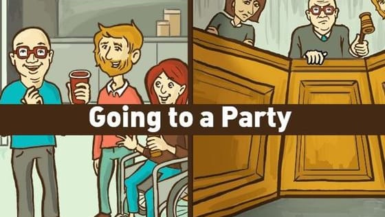 We need you to understand that every social situation is a minefield. (Illustrations by Shea Strauss via Collegehumor.)