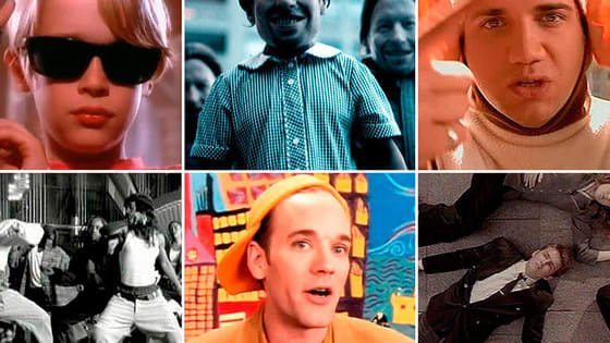 The 90s were the height of the music video world. Can you name these videos from a single image?