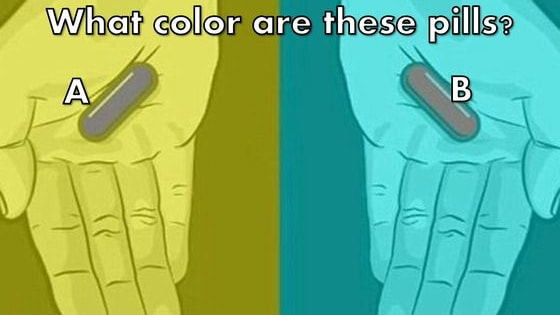 According to science, people of different ages have different color perception. Your color red really could be my pink.