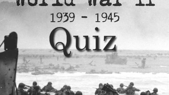 How American are you? Do you know your country's history? Can you pass this quiz with a perfect score? Answer 9 questions based on World War II. What are you waiting for? Test your knowledge!  For more Knowledge based quizzes... Visit our website www.moneyprobs.com & like us on facebook www.facebook.com/moneyprobs !!! Thanks for your time!