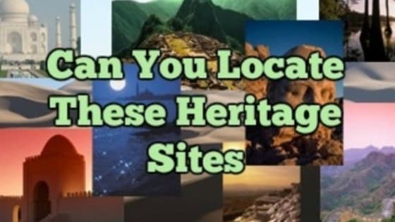 Heritage sites are the reflection of a country's rich history and its enigmatic culture. Be it a man made piece of architecture, or a naturally formed, exquisite, landscape; heritage sites of the world are what makes traveling worth it.  But, first thing first. How much are you even acquainted with the heritage sites of the world? This quiz will show, as to how informed you really are about our world's heritage. Don't worry! There's only gaining out from this.  Let's begin!