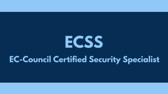 Start your Preparation for EC-Council ECSS and become EC-Council Security Specialist certified with edusum.com. Here you get online practice tests prepared and approved by EC-Council certified experts based on their own certification exam experience. Here, you also get detailed and regularly updated syllabus for EC-Council ECSS.