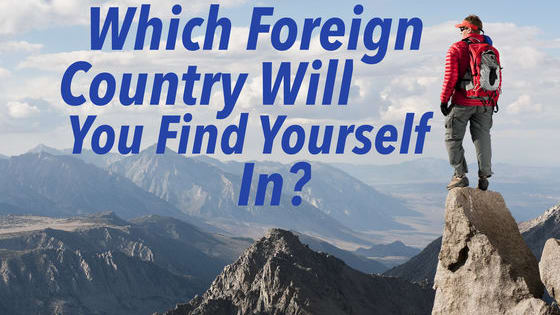 A part of you is missing...which country should you travel to to find it?