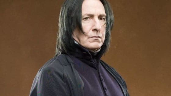Severus Snape is likely my favorite character from the Harry Potter films. Played by the incredible Alan Rickman, Snape stole every scene he was in. (SPOILER ALERT)