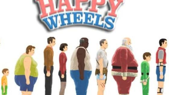 "Let's see what character from the video game ""Happy Wheels"" you are!"