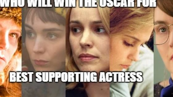 In a very talented field, who will win the Oscar for Best Supporting Actress?