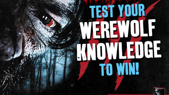"""Bark at the moon and discover how much you really know about werewolf movies with this quiz!  For more information on the new critically-acclaimed werewolf horror, WER which is being described as """"The best werewolf movie in a over a decade"""" (Nerdly) and """"An unmissable slice of top notch horror, ★★★★★"""" (The Horror Channel), simply visit http://bit.ly/Wer-UK  COMPETITION: If you manage to get a top score, you will be given instructions on how to enter the prize draw to win WER on DVD. This competition will en"""