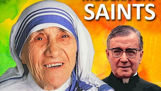 Can you identify these awesome modern-day saints and from a photograph of them?