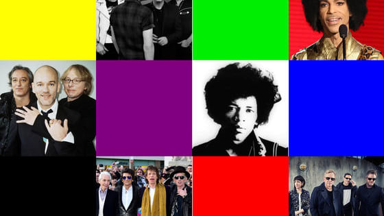 Here's the challenge: we'll give you a choice of THREE colours. Then we'll give you the name of a group. All you have to do is pick the colour that the band have named a song after.