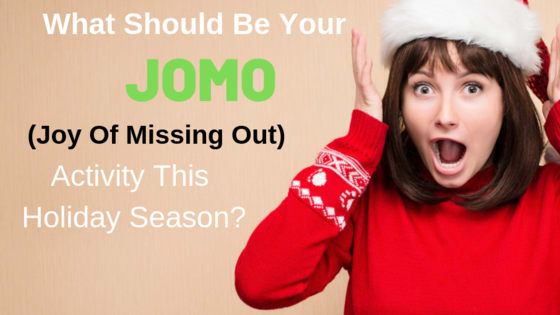 "The ""Joy of Missing Out"" is the happiness we feel when we ditch something stressful in our lives. This holiday season there are several stressful traditions you could scrap. Take this quiz to determine which one."
