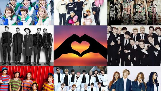 Find out which of these 8 bands you belong in: EXO, Seventeen, Big Bang, Got7, Twice, 2ne1, Red Velvet or F(x).