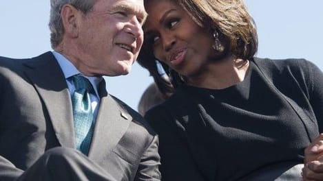 In recent years, we've seen some amazing photos detailing the affection former president George W. Bush and former first lady Michelle Obama have for each other. Now he's explaining their friendship. Find out more here!