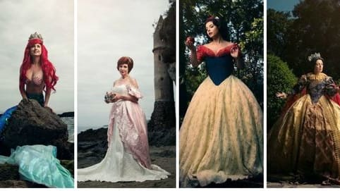 While many think of Disney princesses as perpetually youthful, photographer Tony Ross and costume designer Nephi Garcia decided to step outside the box to imagine what they would look like a few years later as queen mothers! Find out more and see this amazing photography series here!