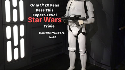 Star Wars is arguably the greatest franchise in the history of entertainment. Find out if you are a Star Wars expert by taking this quiz.