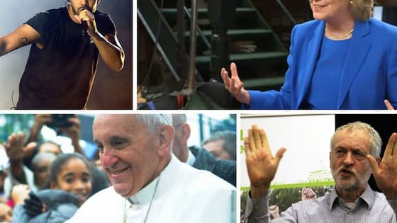 We've got Drake getting busy, the Pope getting off schedule and Lena Dunham getting insight from Hillary. Not to mention deli-flavored ice cream. Dig in!