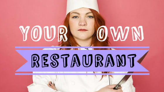 You're about to open a major restaurant. What will you call it?