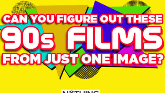 How well do you know your movies of the 90s? Take this quiz and find out. You get one clue, that's it!