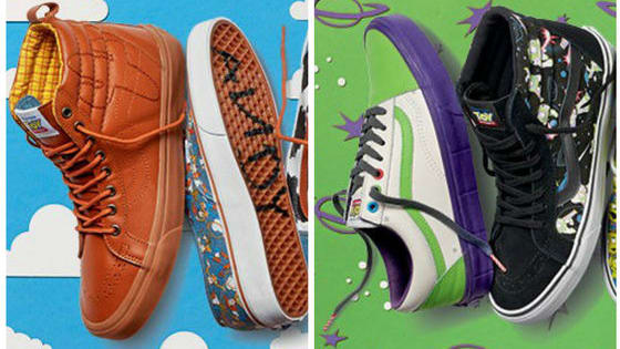 Have you always wanted Andy's name scrawled across the bottom of your boot? Well, get ready for these incredibly stylish new Toy Story shoes from Vans' amazing new collaboration!