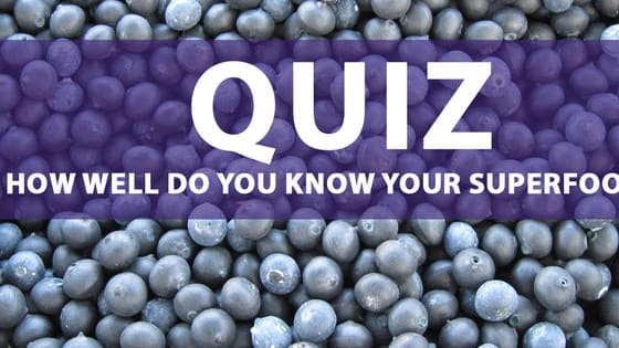 Just how well do you know you chia from your flaxseed? Take our quiz and prove how well you know your superfoods!