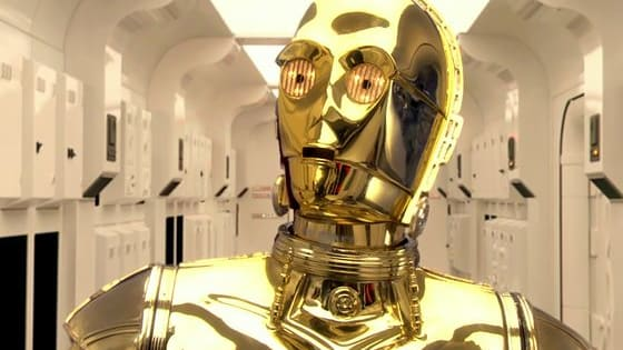 Even in the Star Wars universe everyone has a dream. C-3PO wants to become an entertainer. Check Out his new routine and see if he succeeds.