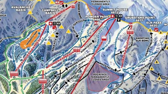 How well do you know your trail maps?