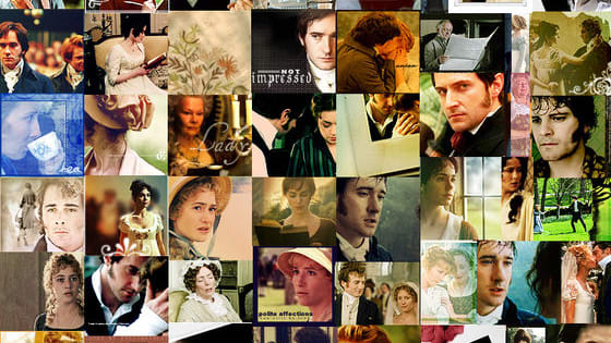 Can you name which films and television adaptations these stills come from?