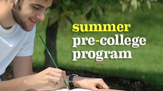 Answer each question to  determine the best local pre-college program for you to enroll in for this summer to prepare for college.