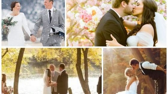 Planning a wedding is hard, but finding just the right season for you is easy with this quiz. Find your perfect wedding season here!