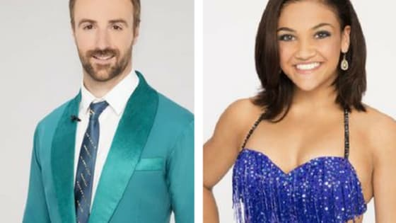 Laurie Hernandez, James Hinchcliffe, Jana Kramer and Calvin Johnson are all competing in the two-night 'Dancing With the Stars' finale.