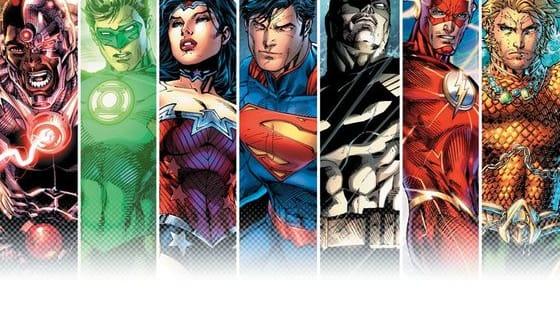 Choose your favorite Justice League member.