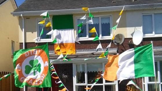 have you put your bunting up? If so, send a picture to youboysingreen@gmail.com
