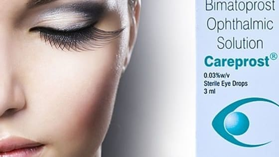 Careprost is used to grow the eyelashes Bigger and darker.Big and thick eyelashes helps you to give the good impression in front of the people.