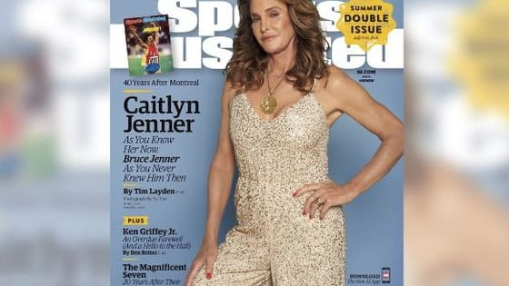 It's not the first Sports Illustrated cover for Jenner, but her first as Caitlyn!