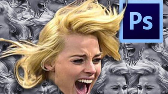 Lista ranked humor para votar las fotos graciosas de la actriz rubia Margot Robbie en un partido de hockey sobre hielo en Nueva York.