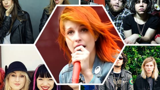 While we love Paramore, it's become apparent that people have a really hard time of referencing female-led bands without first comparing them to Hayley Williams and her boys. Here's a handy list of ten awesome songs from such bands so we can all stop the Comparamoring...
