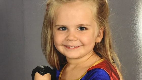 Forget about the X Men or Superman; here's Kaylieann!