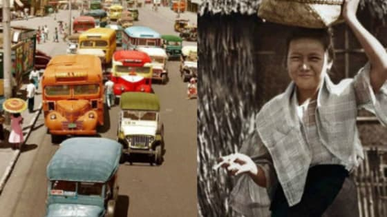 Relive the memories of Old Philippines with these fascinating colorized photographs.