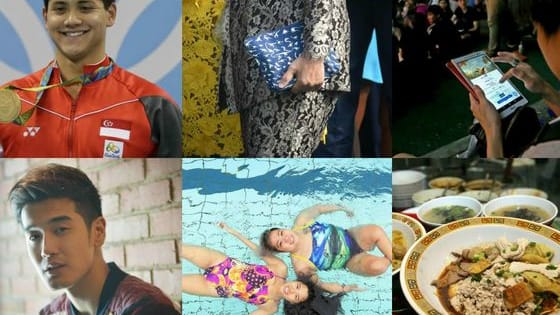 From Joseph Schooling's Olympic gold medal win to a $14.80 pouch that became a fashion icon, the six moments of 2016 that united Singaporeans.