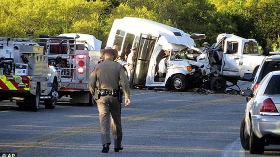 When a 20-year-old swerved his truck into their lane, hitting them head on, 13 out of the 14 senior passengers of a church bus returning from a choral retreat were killed. Find out more here.