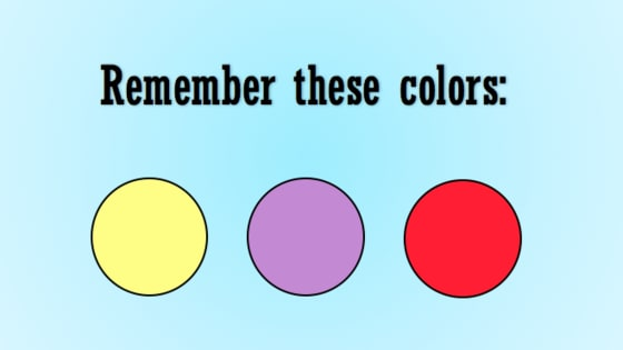 This is extremely difficult. Can you actually remember what you saw?