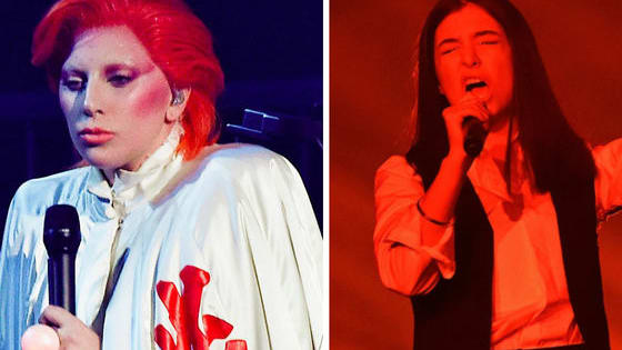 Who's Bowie tribute performance was better?