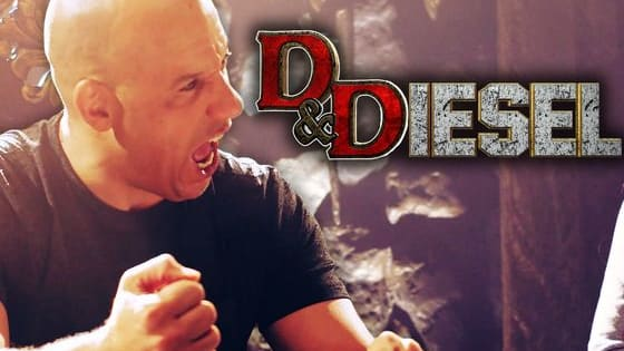 Watch as Vin Diesel plays Dungeons and Dragons with some other celebrity gamers. He really gets excited for the criticals!