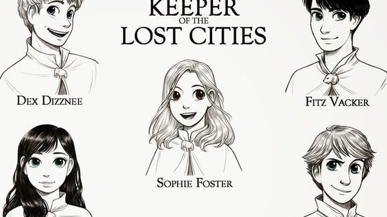 "Take a personality quiz and find out which character you are most like in the ""Keeper of the Lost Cities"" series."